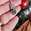 Thumbnail: Snowflake druzy pendant