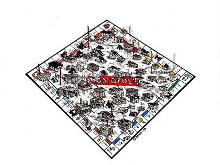 El juego de Monopoly: te lo compro o te lo usurpo