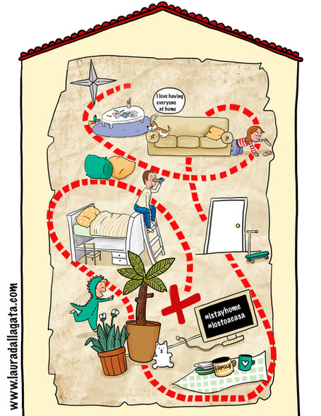 home treasure map