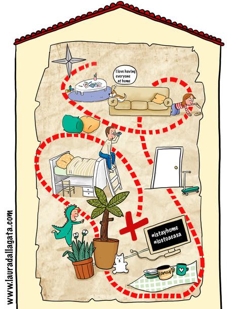 home treasure map