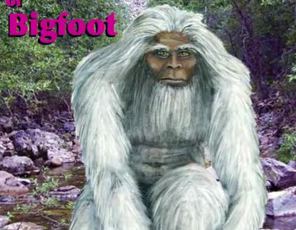 Sasquatch A Terrestrial-Extraterrestrial ? by Kewaunee Lapseritis