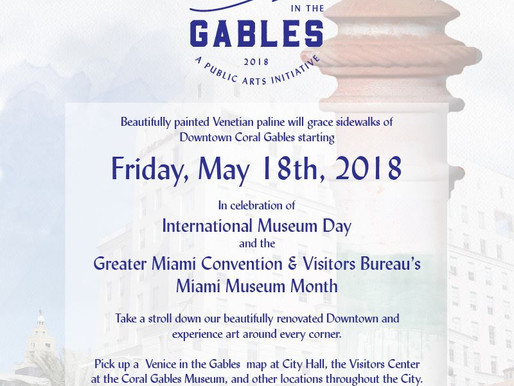 """Moon over Miami"" Paline on Exhibition for #VeniceInTheGables"