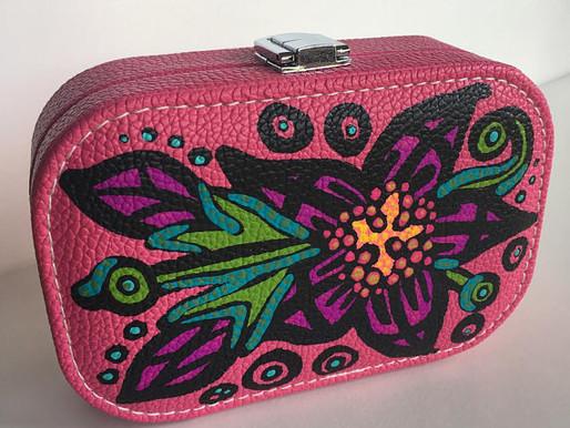 Shop Custom ART TO WEAR Travel Jewelry Case Organizers