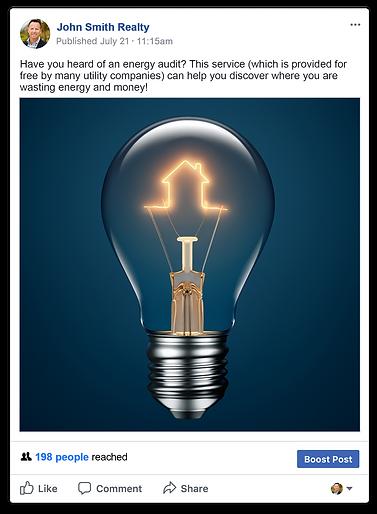 Facebook marketing for real estate agent