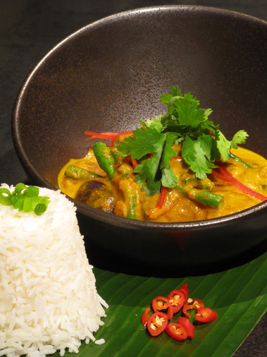 Thai Red Curry Veg