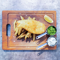 St Mungo Battered Fish and Chips
