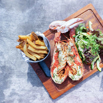 Grilled Whole Boston Lobster