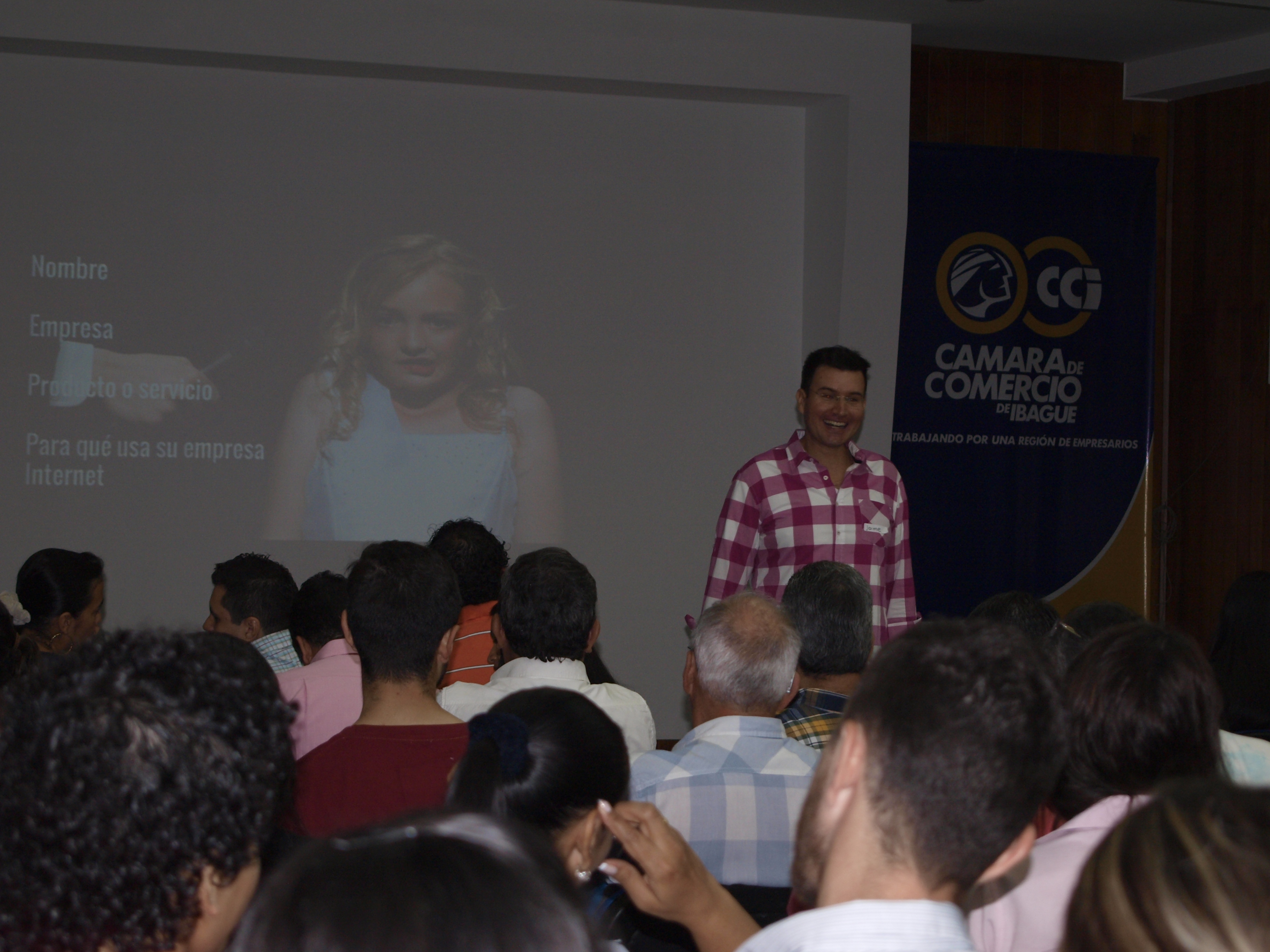 Jaime Penuela Camara de Comercio de Ibag