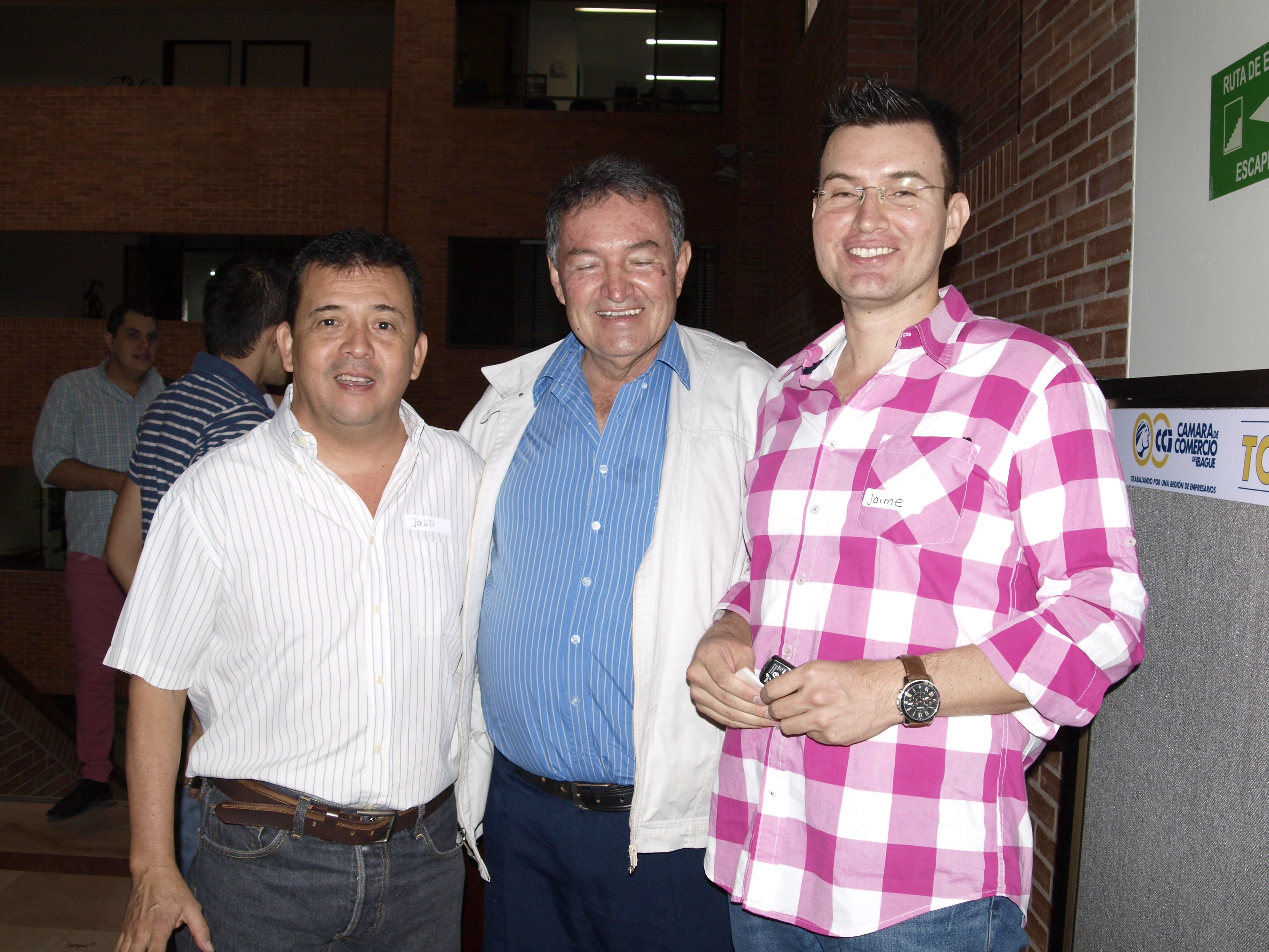 Jaime Penuela asistentes Camara de Comer