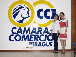 Lorena y Laurita en Camara de Comercio d