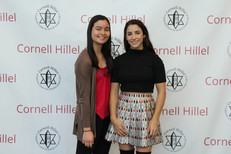 Olympian Aly Raisman greets students after her talk