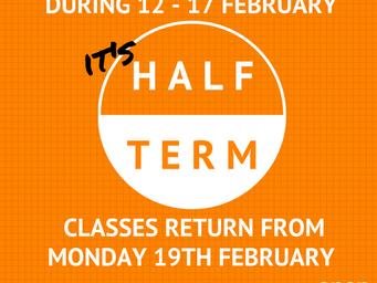 Half term information