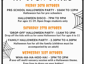 Halloween at Open Stage