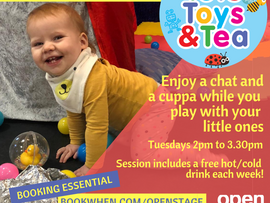 Toys, Toys and Tea returns
