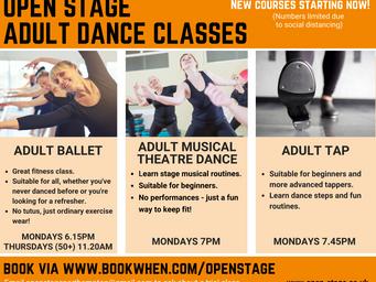 Adult dance classes return to the studio