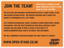 Join the Open Stage Team