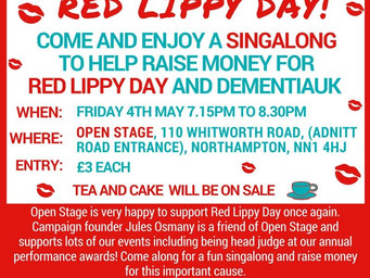 Singalong for Red Lippy Day!