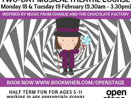 Book now! Charlie and the Chocolate Factory half-term fun