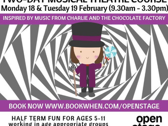 Book now!Charlie and the Chocolate Factory half-term fun