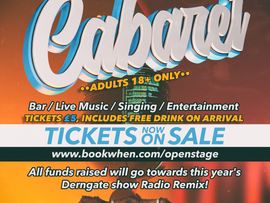 Open Stage Cabaret tickets now on sale