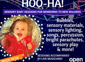 Baby and toddler class bookings open