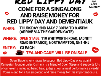 Singalong for Red Lippy Day