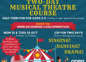 Greatest Showman Half-Term Musical Theatre Course