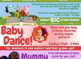 Baby and pre-school courses now available to book