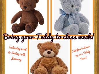 Teddy bear theme week!