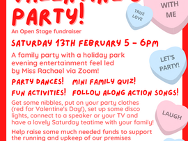 Valentine's Party fundraiser for all the family