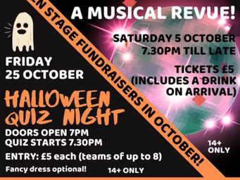 Two Open Stage fundraisers planned for October
