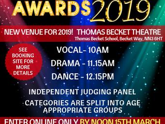 Deadline to register for Performance Awards