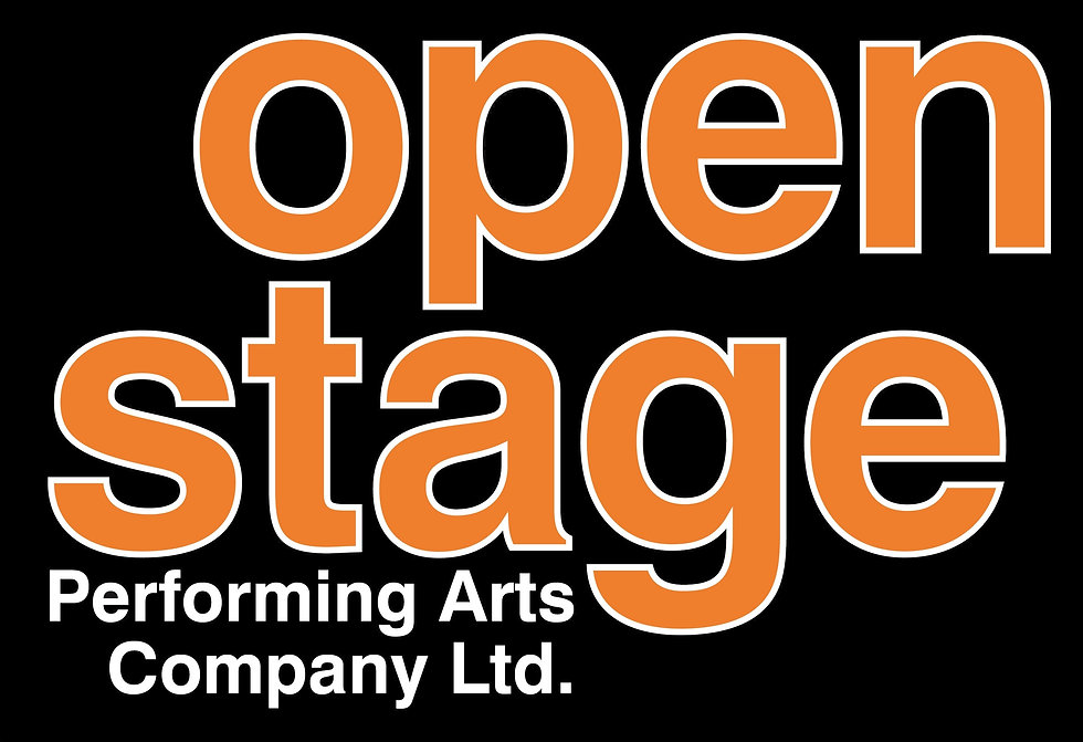 Background image of open stage logo