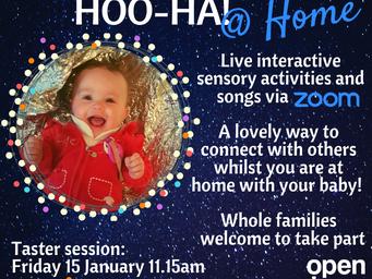 Hoo-Ha and Great Big Storybook @ Home