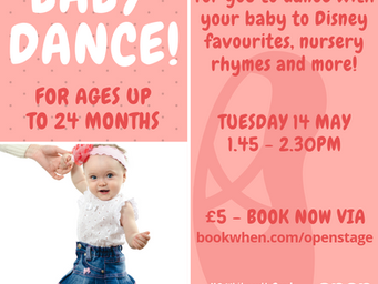 More BABY DANCE! and MUMMY & ME dance workshops
