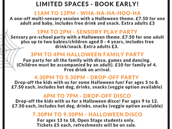 Halloween fun at Open Stage