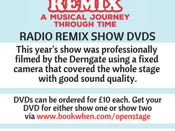 Deadline for DVD orders Friday 17th August