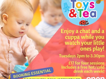 Tots, Toys and Tea