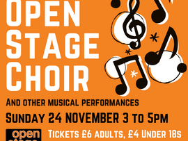 Tickets on sale for Open Stage Choir concert