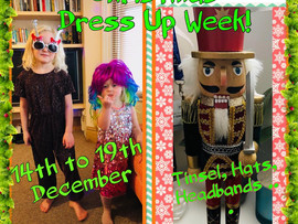 Christmas dress up week!