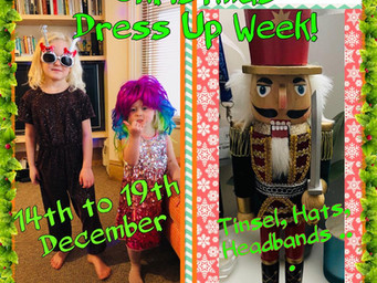 Christmas dress up week!