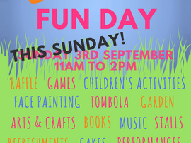 Summer Fun Day this Sunday!