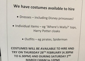 Do you need a costume for World Book Day?