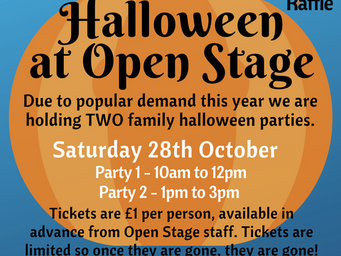 Halloween party tickets now available
