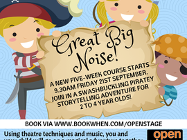New Great Big Noise course for September