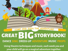 New Great Big Storybook course