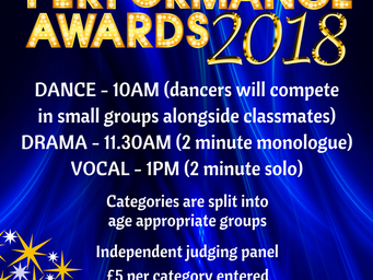 Registration now open for this year's performance awards