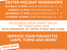Improve your leaps, turns and pirouettes this Easter