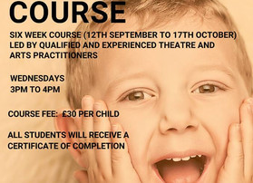 New home school musical theatre course
