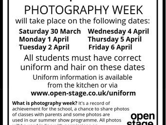 Get ready for photography week